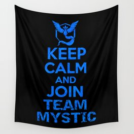 Team Mystic Wall Tapestry
