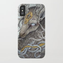In Memory, as a print iPhone Case