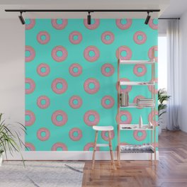 Party of Donuts Wall Mural