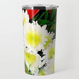 Chrysanthemum/ Mums Travel Mug