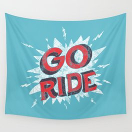 go ride Wall Tapestry