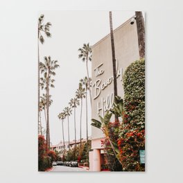 The Beverly Hills Hotel / Los Angeles, California Canvas Print