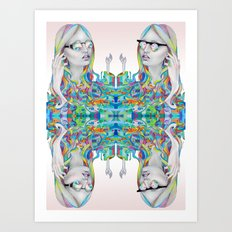 melting mistress Art Print