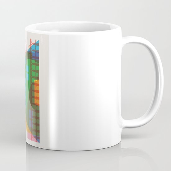 Shapes of Rio. Accurate to scale Mug