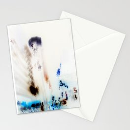 New York In Negative Stationery Cards