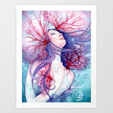Soul of the Siren Art Print