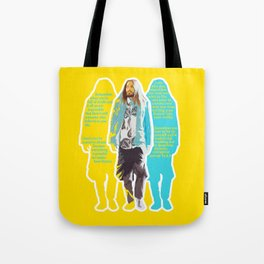 Jared Leto and his wisdom  Tote Bag