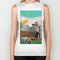 bali Biker Tanks featuring Bali and elephant  by HURLUdesign