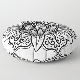 Mandala flower gifts for mandala fans Floor Pillow
