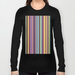 Colorful Symphony of Summer Long Sleeve T-shirt