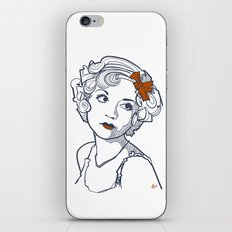 1930's Actress Alice White  iPhone & iPod Skin