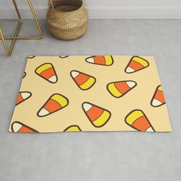 Candy Corn Pattern Rug