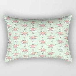 Baby Stegosaurus Rectangular Pillow