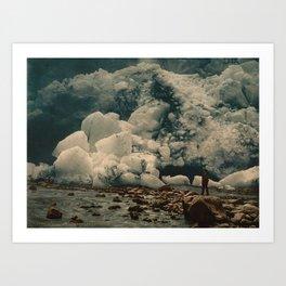 """""""Kjenndalsbreen Glacier Norway"""" Art Print"""