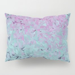 Blue, Teal, and Purple Pillow Sham