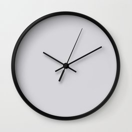 Linen Gray, Solid Collection Wall Clock