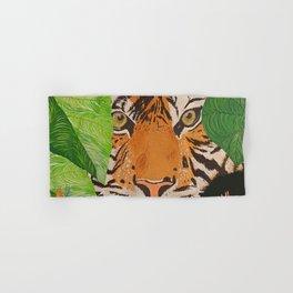Hidden Tiger Hand & Bath Towel