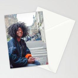 Parisian Mugshots - LazyKat Crew (Gueules de Parisiens) Stationery Cards