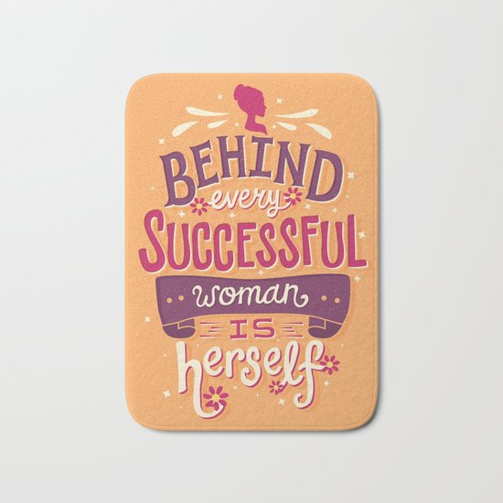 Successful woman Bath Mat