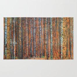 Tannenwald Gustav Klimt Rug