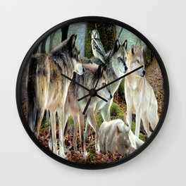 Los Lobos Wall Clock