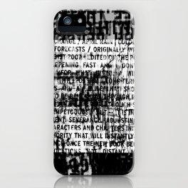DUPLICITY / 05 iPhone Case