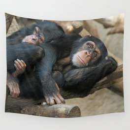 Chimpanzee_2014_1202 Wall Tapestry