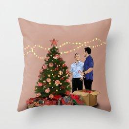 Merry Christmas - McDanno Throw Pillow