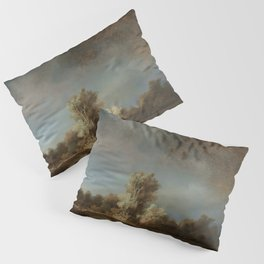 Rembrandt - The Stone Bridge Pillow Sham