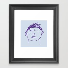 Æsj Framed Art Print