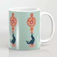 seal Mugs featuring Circus Seal by Picomodi