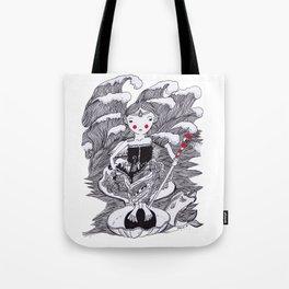 The ocean Queen Tote Bag