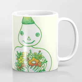 FLOWER MAN Coffee Mug
