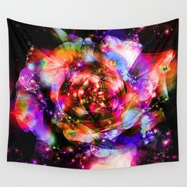 If Zeus wanted to give a queen to flowers, the rose would reign over all. Wall Tapestry