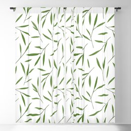 Bamboo Leaves Blackout Curtain