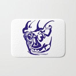 face8 blue Bath Mat