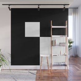 Black and White Color Block #2 Wall Mural