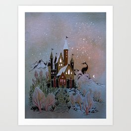 Magic Castle Art Print