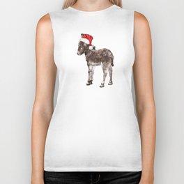 Christmas Baby Donkey Biker Tank