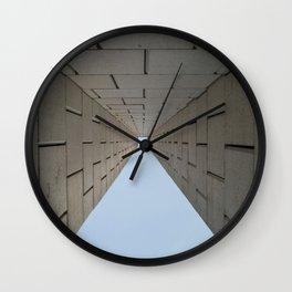 The high wall Wall Clock
