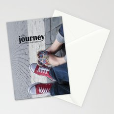 The journey, not the destination Stationery Cards