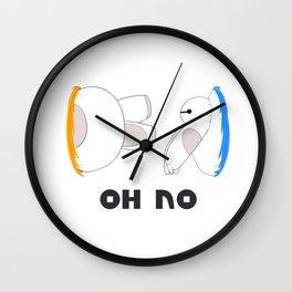 Oh No Baymax failed teleport Wall Clock