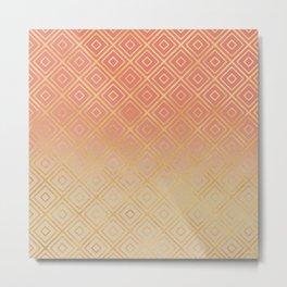 Modern - Tiles Metal Print