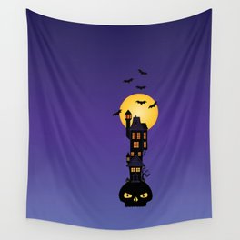 Haunted House Wall Tapestry