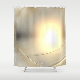Spheres, No. 6 Shower Curtain