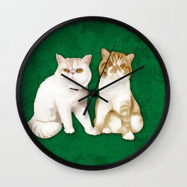 Teagues and Oliver Wall Clock