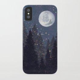 Full Moon Landscape iPhone Case