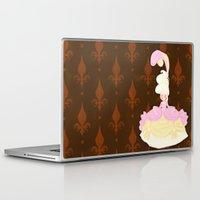 marie antoinette Laptop & iPad Skins featuring Marie Antoinette  by Delucienne Maekerr