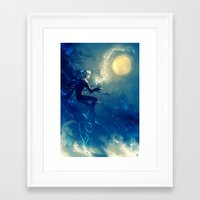jack frost Framed Art Prints featuring Jack Frost by AkiMao