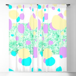 leaves and sparkle Blackout Curtain
